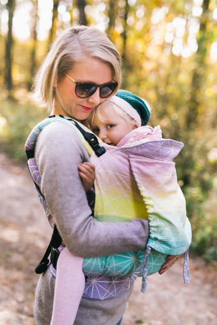 Baby Carrier - Be Lenka Toddler Spiderweb - Tropical Juice