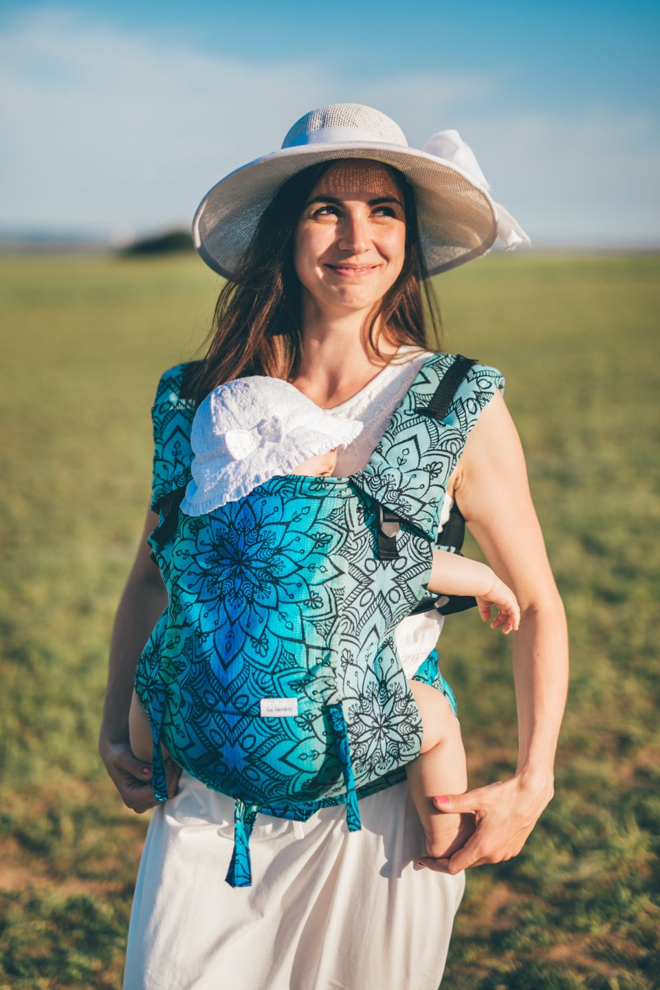 Baby Carrier - Be Lenka 4ever Mandala - Polar Night