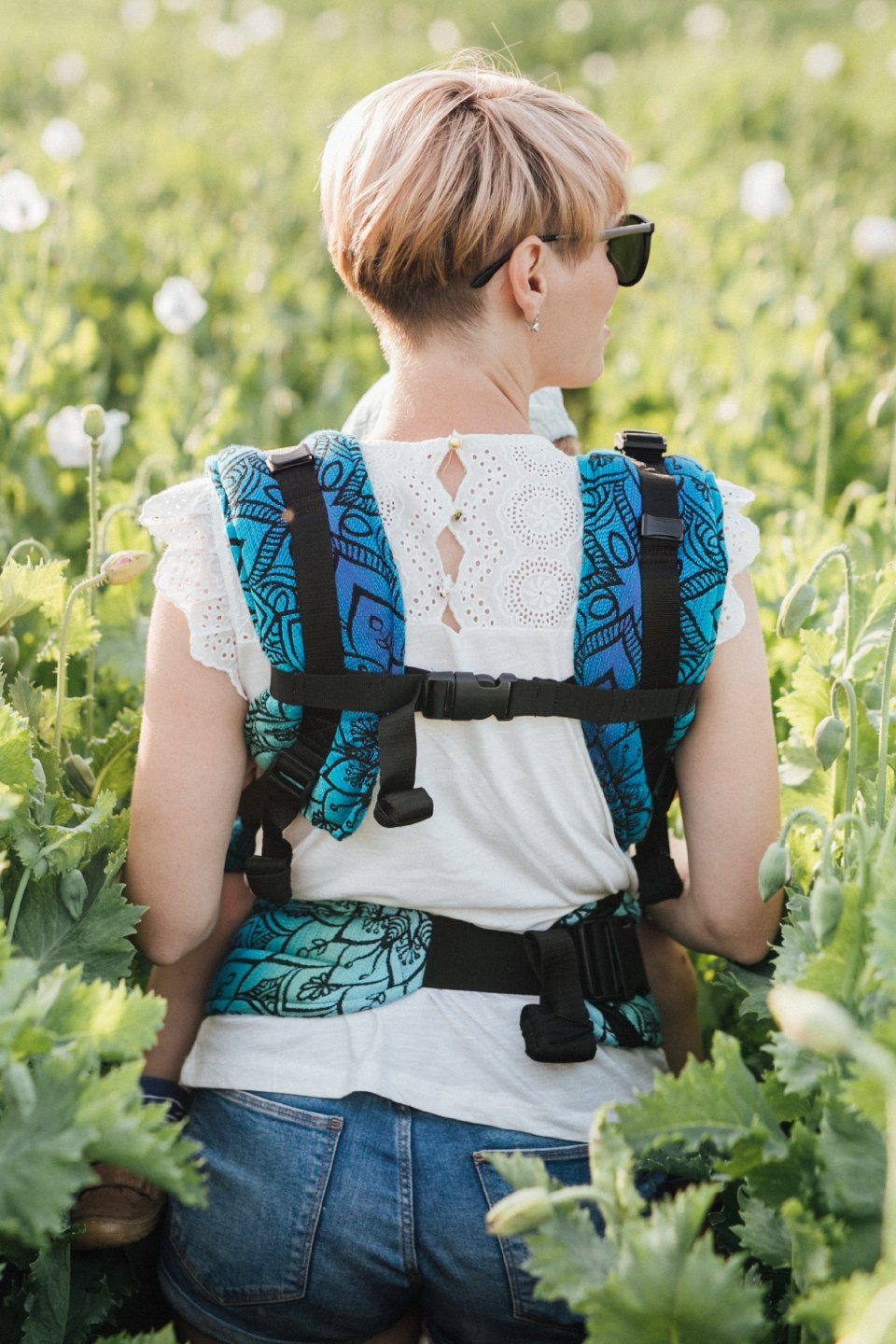 Baby Carrier - Be Lenka 4ever Mandala - Polar Day