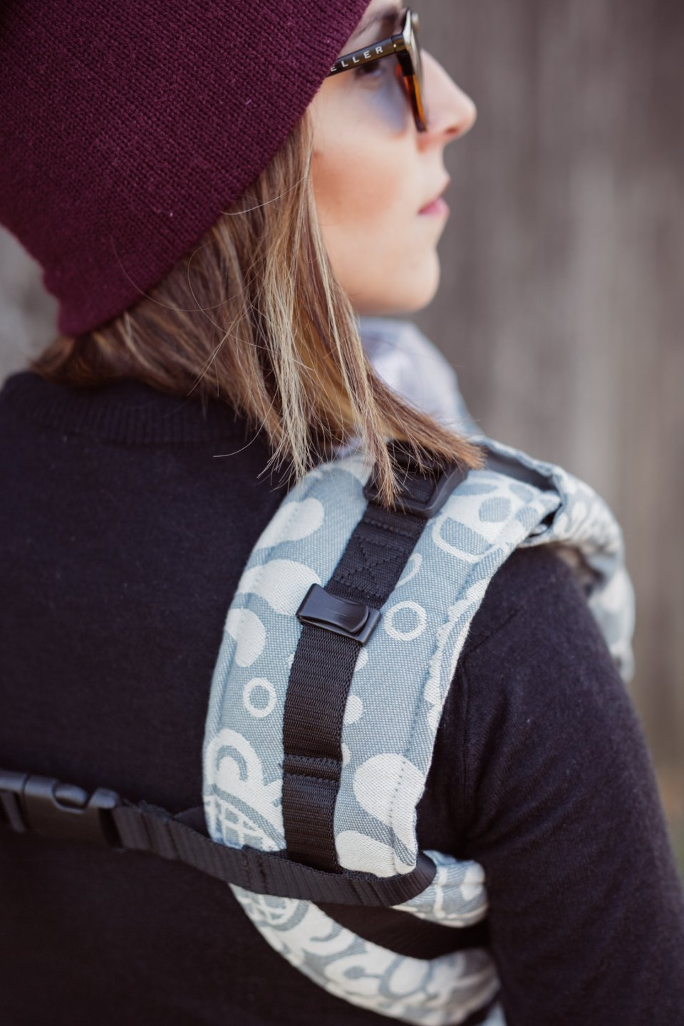 Baby Carrier - Be Lenka 4ever Folk - Grey