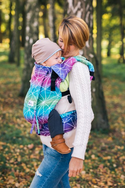 Baby Carrier - Be Lenka 4ever - Spiderweb - Galaxy