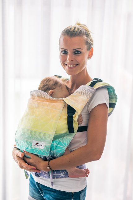 Baby Carrier - Be Lenka 4ever Spiderweb - Tropical Juice