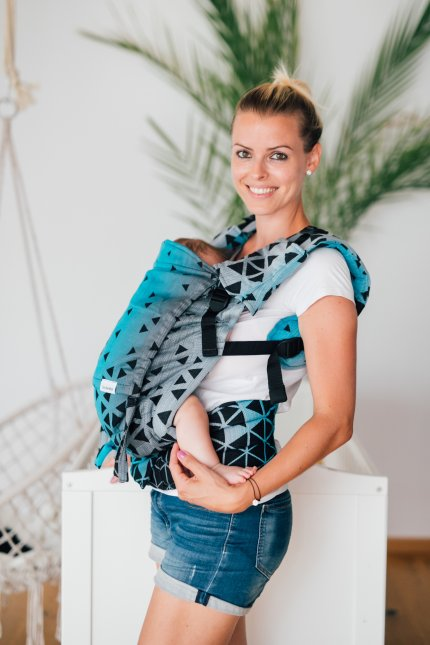 Baby Carrier - Be Lenka 4ever Triangle - Sapphire