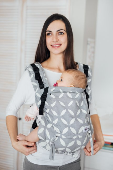 Baby carrier - Be Lenka 4ever Classic - Grey
