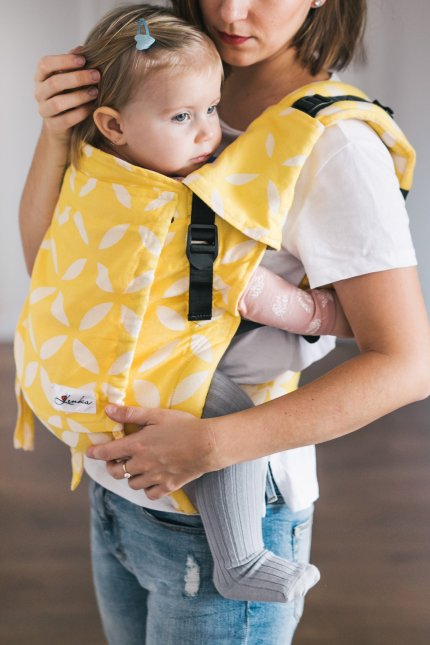 Baby carrier - Be Lenka 4ever Classic - Yellow