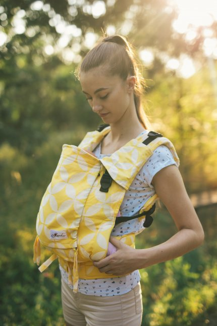 Baby carrier - Be Lenka 4ever Classic - Yellow Diamond