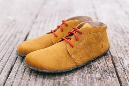 Barefoot shoes - Be Lenka All-year - Mustard