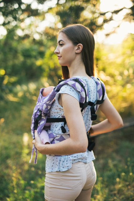 Baby carrier - Be Lenka 4ever Classic - Purple
