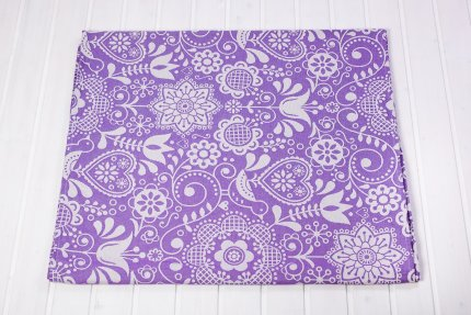 Rebozo - Be Lenka Folk - Purple