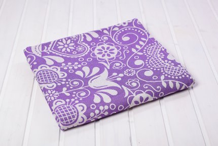 Ring Sling Be Lenka Folk - Purple