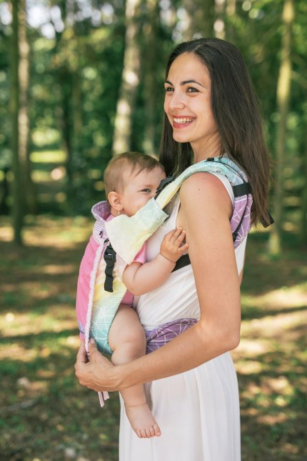 Baby carrier - Be Lenka 4ever Spiderweb - Tropical Juice - Summer version