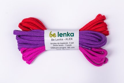 Shoe laces 3 pack - Alex - 85cm