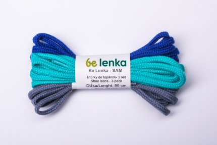 Shoe laces 3 pack - Sam - 85cm