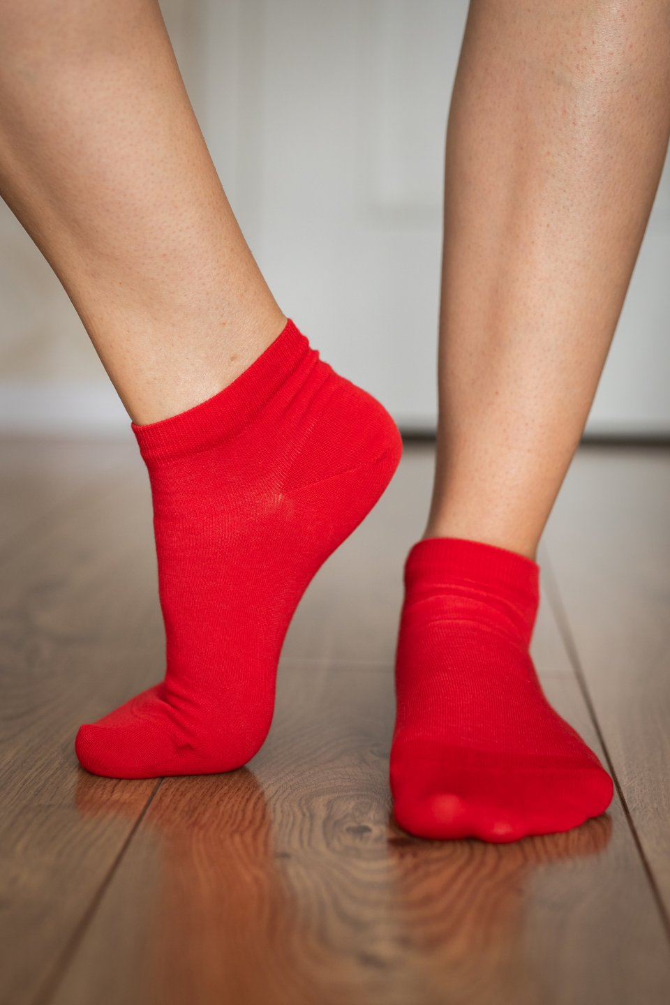 Barefoot Socks - Low-Cut - Red