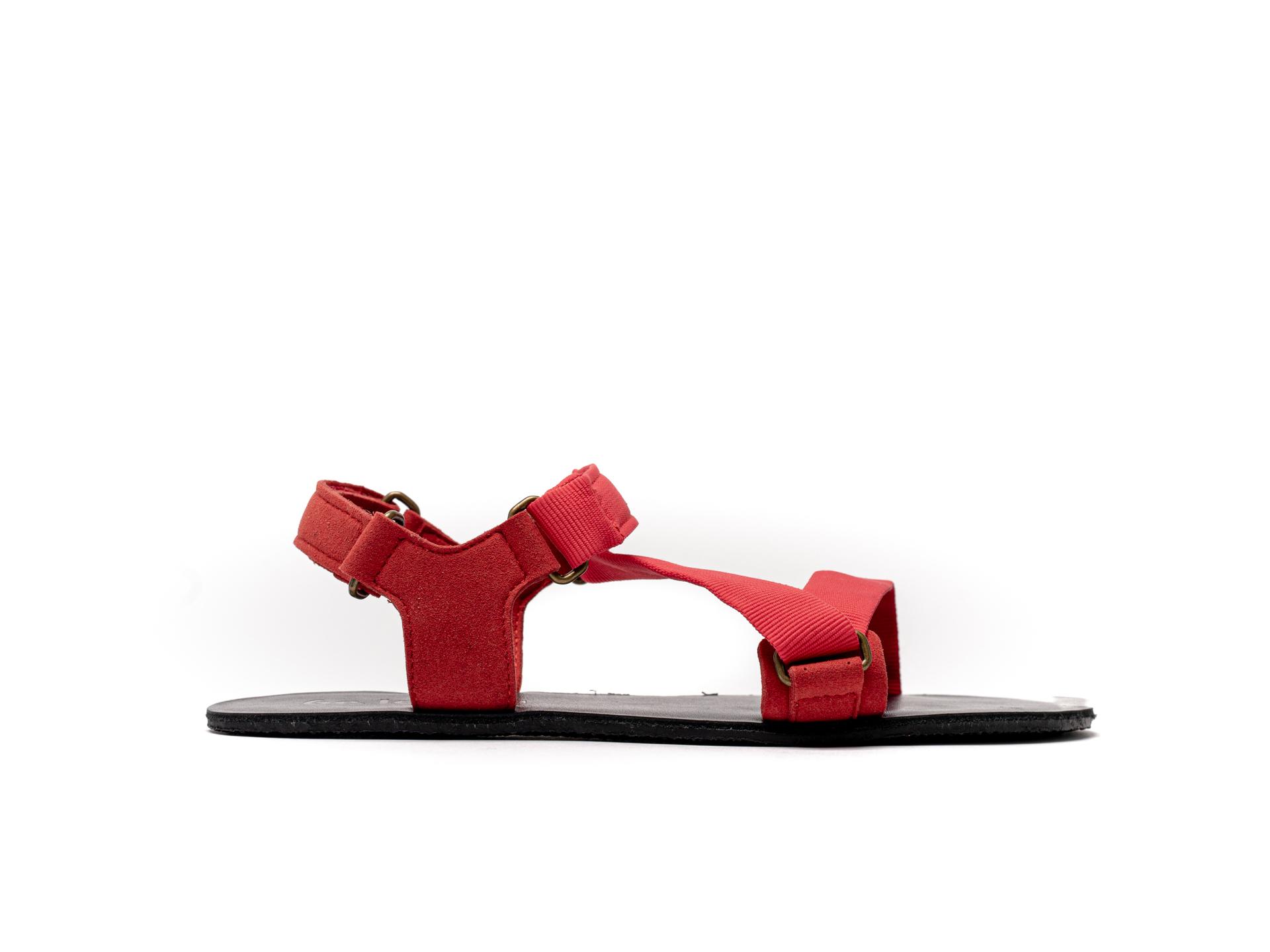 Barefoot Sandals - Be Lenka Flexi - Red 39